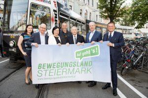 Bewegungsland Steiermark Straßenbahn_© M. Krobath