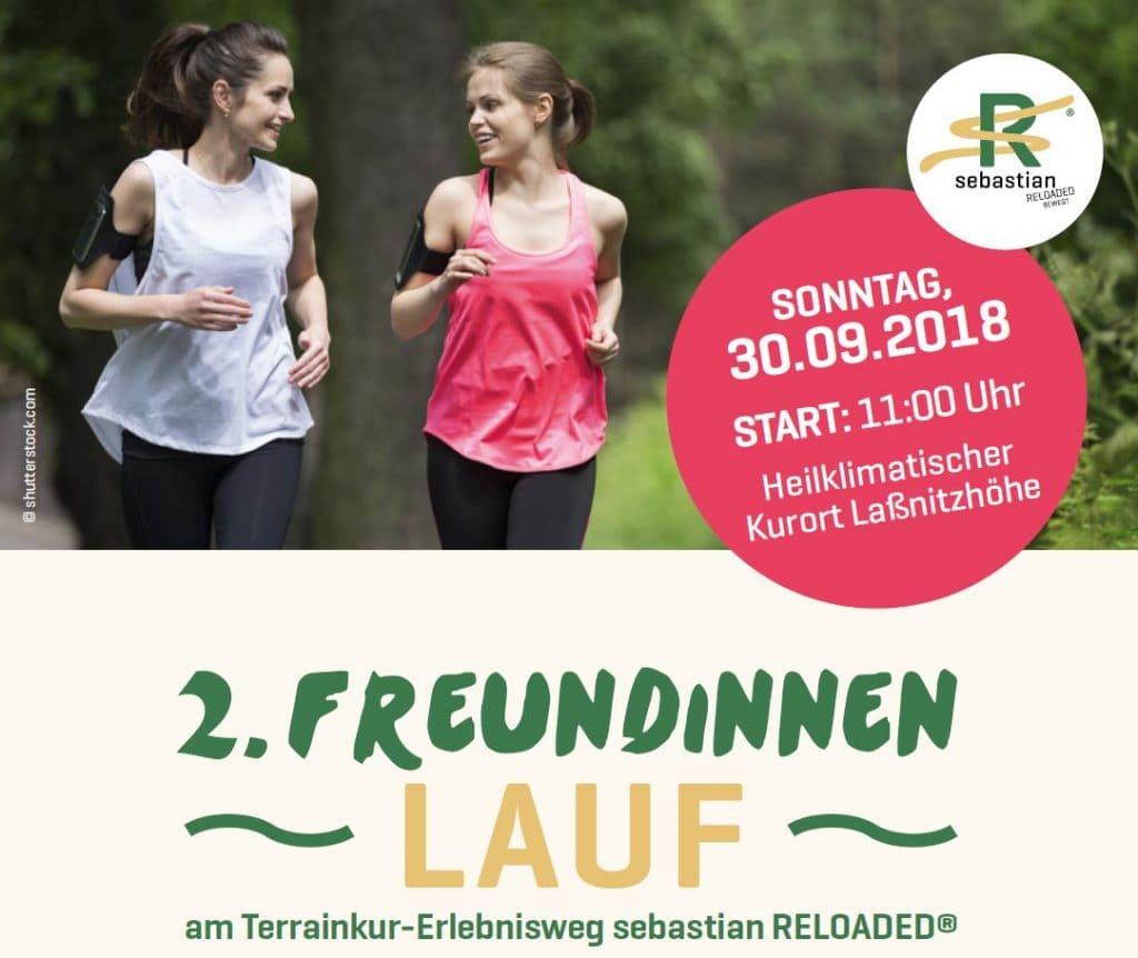 2. Freundinnenlauf am sebastian reloaded 2018